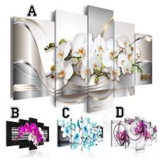 art, Decor, Flowers, unframed