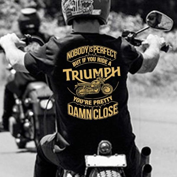 Summer, biker, triumphshirt, triumphtshirt