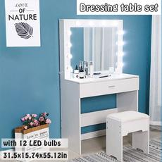 Beautiful, lightingmakeupdesk, vanitytable, Beauty