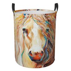 laundrybasket, horse, Laundry, Baskets