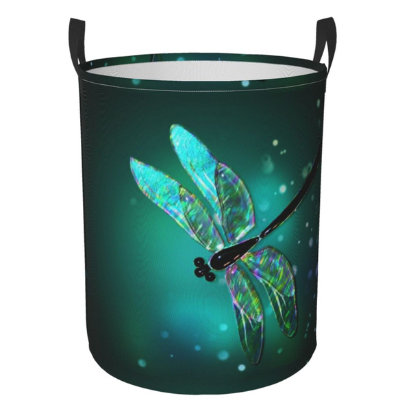 waterprooflaundryhamper, dragon fly, Laundry, Cleaning Supplies
