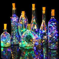 Copper, led, Bottle, Garland
