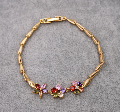 golden, Fashion, Chain, Bracelet