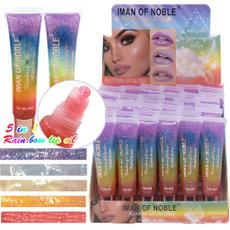 cute, Lipstick, liquid, rainbow