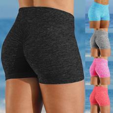 Women, short leggings, Yoga, high waist