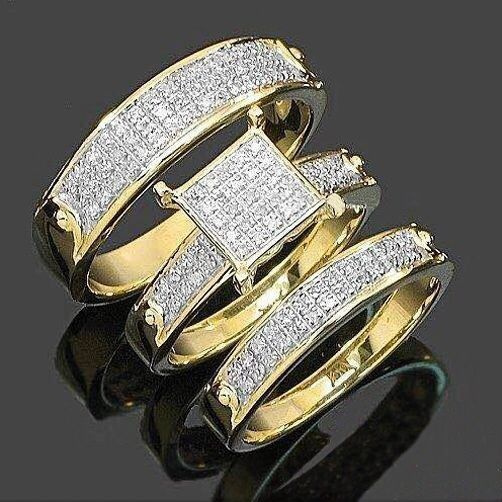 Sterling, goldplated, DIAMOND, Bridal