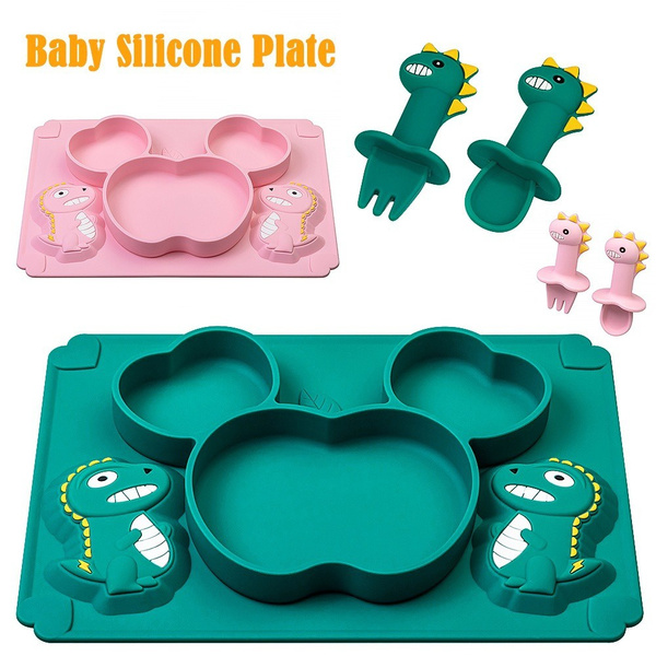 babydinnerplate, toddlebowl, Silicone, siliconeplate