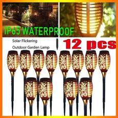 waterproofsolarlight, Outdoor, led, Garden
