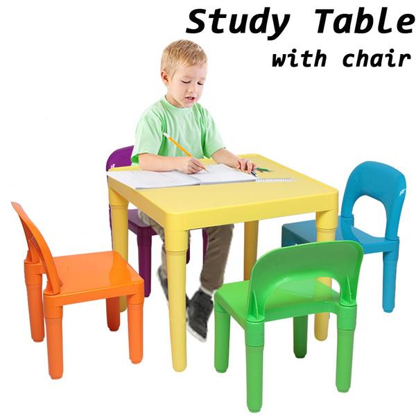 Plastic, studytable, plastictable, kidsaccessory