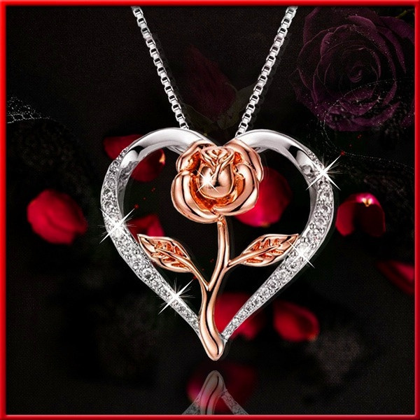 Heart, Fashion necklaces, Love, Jewelry
