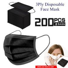 dustproofmask, blackmask, ffp2facemask, virusmask