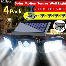 motionsensor, Head, solarledlight, waterprooflight
