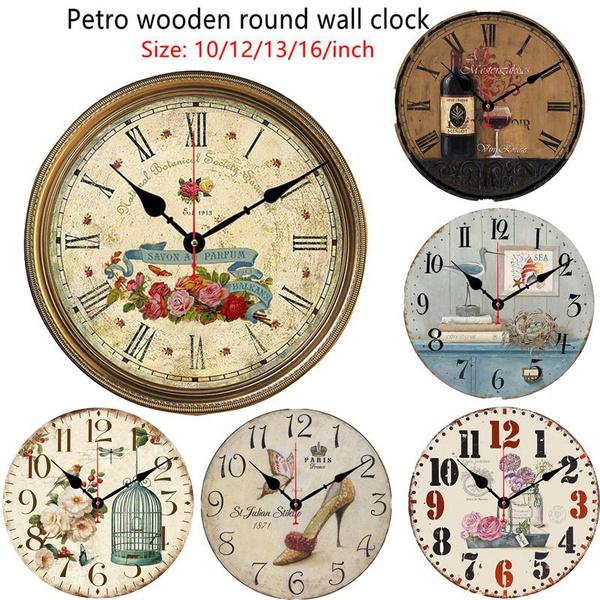 quartz, Colorful, Clock, Simple