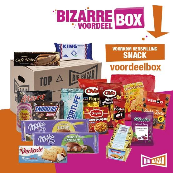 voordeelbox, Snacks