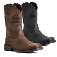 autumnwinter, Leather Boots, Winter, workshoe