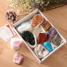 1setrockmineralcollectionkit, Toy, 11pcsmineralrock, bismuthspecimen