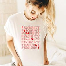 girlpower, Summer, Fashion, Shirt