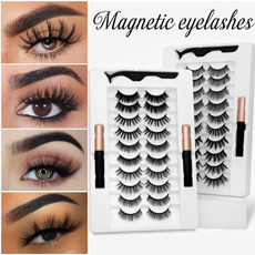 Makeup, magnetminkeyelashe, eye, Beauty