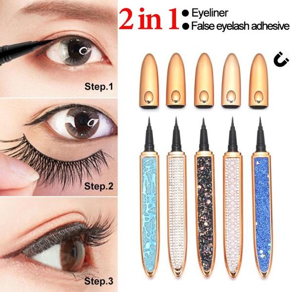 Eyelashes, pencil, selfadhesive, eye