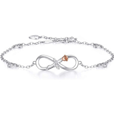 Sterling, Heart, Fashion, Infinity