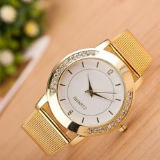 Moda, gold, analogwatche, Stainless Steel