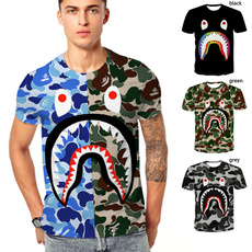Shark, Shorts, printed, plussizetshirt