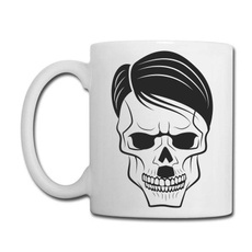 Coffee, skull, Cup, Porcelain