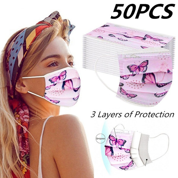 butterfly, disposablemask, Outdoor, childrenmask