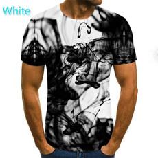 kleidung, Shirt, flamme, 3D
