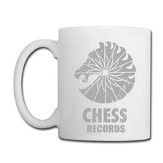 Coffee, Chess, Cup, Porcelain