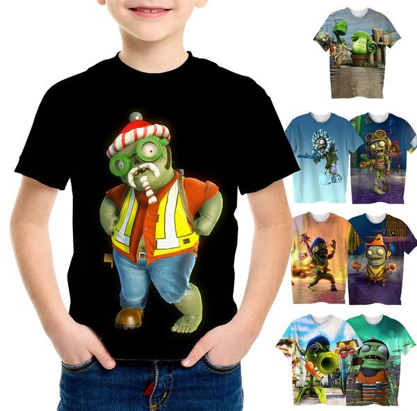 Boy, Plants, Fashion, Shirt