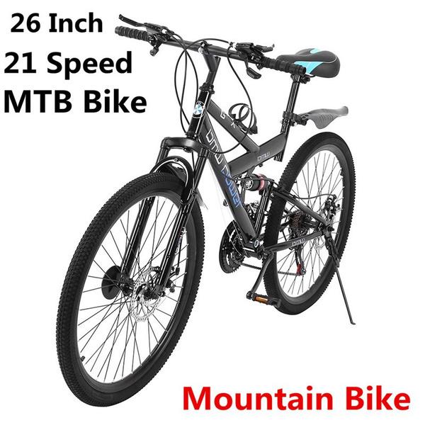 fullsuspensionbike, Bicycle, Mountain, shockabsorbing