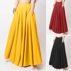 plussizeskirt, long skirt, dressesforwomen, looseskirt