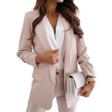 Autumn, Fashion, Blazer, Sleeve