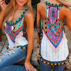 Summer, Vest, Plus Size, woman vest