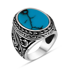 Vintage, Turquoise, Jewelry, idtungstenring