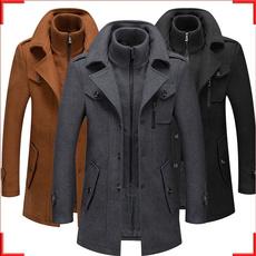 woolen, blousonhomme, Fashion, herrenmantel