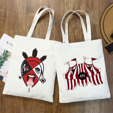 americanhorrorstory, Canvas bag, Women's Fashion, Bags