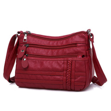 Shoulder Bags, softpuleatherbag, Fashion, leather