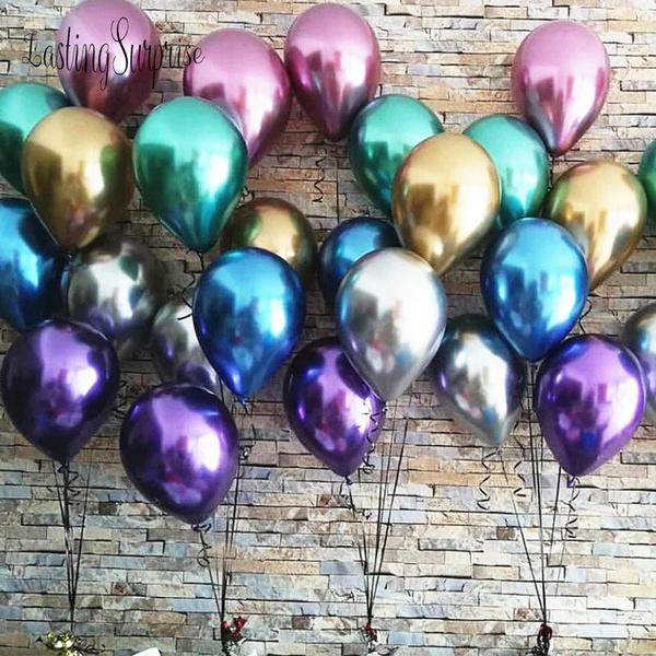 latex, airballoon, metalballoon, chrome