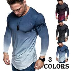 Spring Fashion, Fashion, Slim T-shirt, Long Sleeve