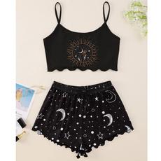 cute, nightwear, gothic clothing, robefemme