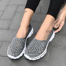 Summer, Sneakers, Fashion, Elastic