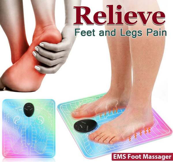 em, footmassager, ten, relieve