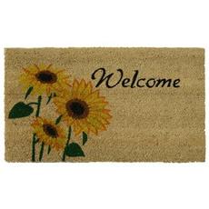 doormat, Outdoor, Door, Sunflowers