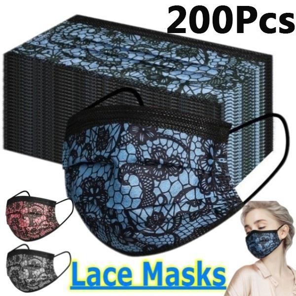Fashion, mouthmask, Lace, surgicalmask