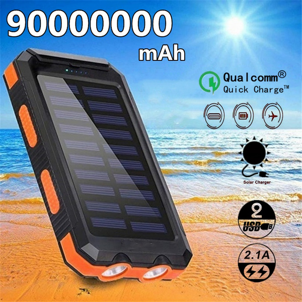 solar charger, led, Battery Charger, Waterproof