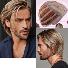 wig, menswig, hairstyle, Shorts