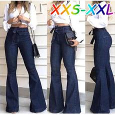 womens jeans, Fashion, wideleg, high waist