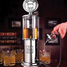 Mini, gasstation, shot, liquid